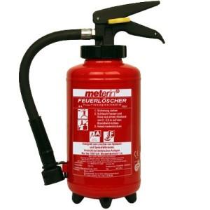 1 Meterin Feuerlöscher - Fettbrandlöscher - Fettbrand - Aufladelöscher 3 Liter
