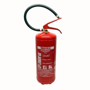 1 Feuerlöscher Pulverfeuerlöscher Löscher 6kg mit Manometer Protex