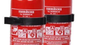 Kleiner Feuerlöscher ABC 1kg