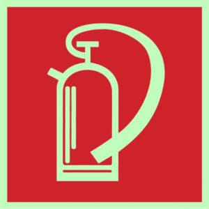 Feuerlöscher Symbol - Hinweisschild - Piktogramm