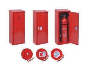 Feuerlöscher Schutzbox Aussenbereich